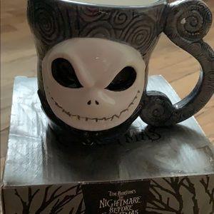 Never used jack skellington Nmbc mug